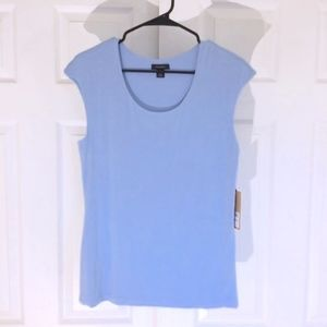 Halogen baby blue top